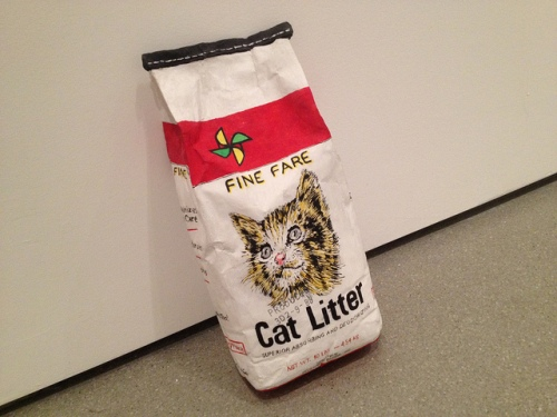 Robert Gober, Cat Litter, 1989